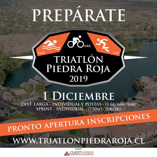 PRONTO APERTURA INSCRIPCIONES 2019